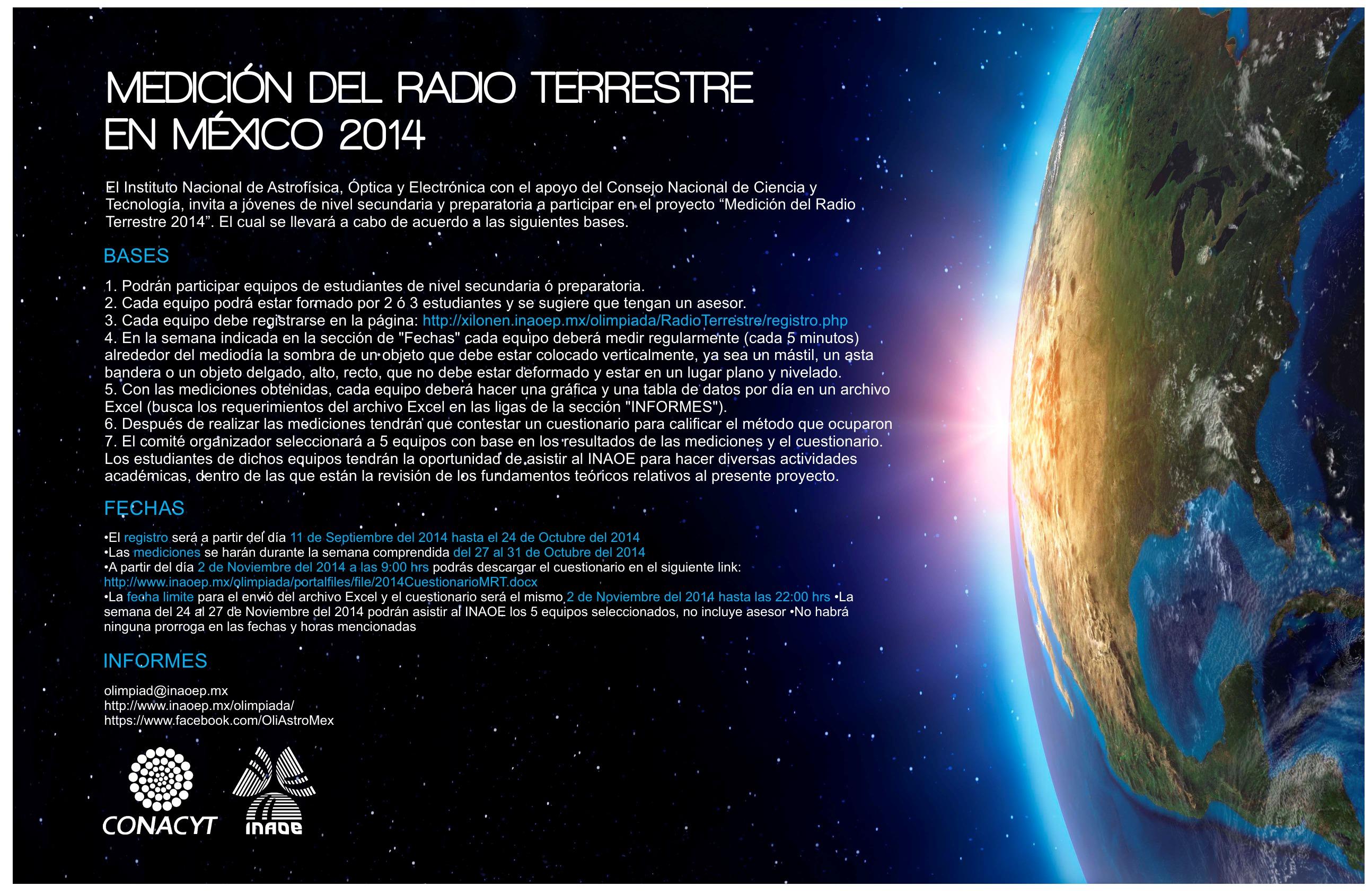Medición del Radio Terrestre