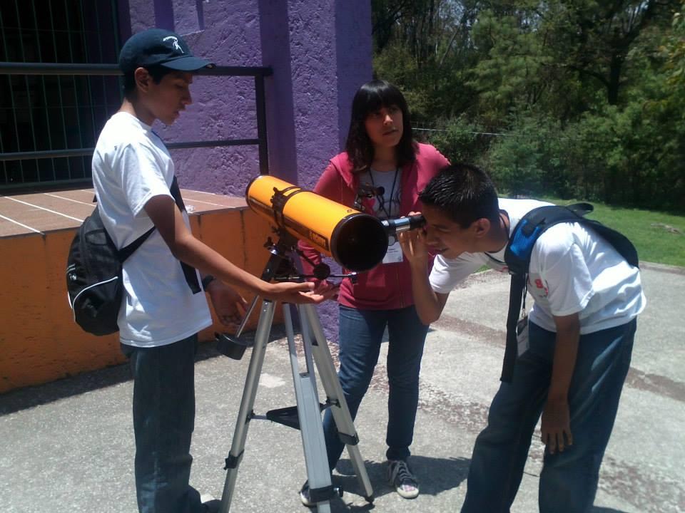 Práctica con Telescopios